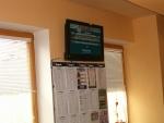 Stávkovacie tabuľky a obrazovka